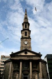 St. George's, now St. Andrew's and St. George's of Edinburgh. Photo by Oscar Palmer.