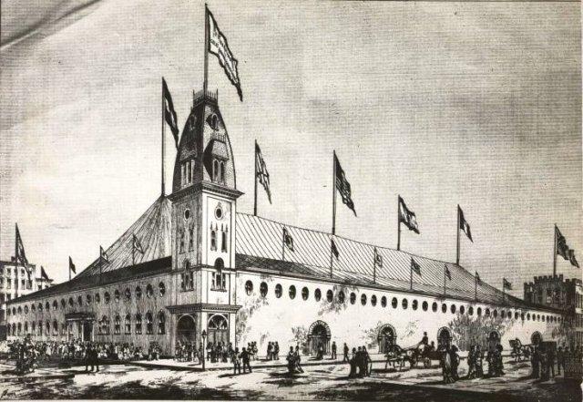 P. T. Barnum's Hippodrome (the future site of Madison Square Garden) [PD-1923]