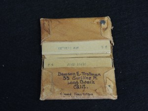 A set of Dawson's memory verses (Image: courtesy of the Navigators-http://www.navigators.org/us/).