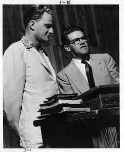 Billy Graham and Dawson (Image: courtesy of the Navigators-http://www.navigators.org/us/).
