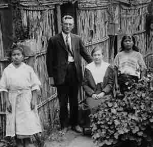 Cameron and Elvira Townsend in Guatemala. [PD-1923]