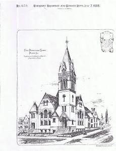 First Presbyterian Church, Peoria, Illinois. [PD-1923]