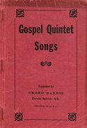 """Gospel Quintet Songs"" by Thoro Harris"